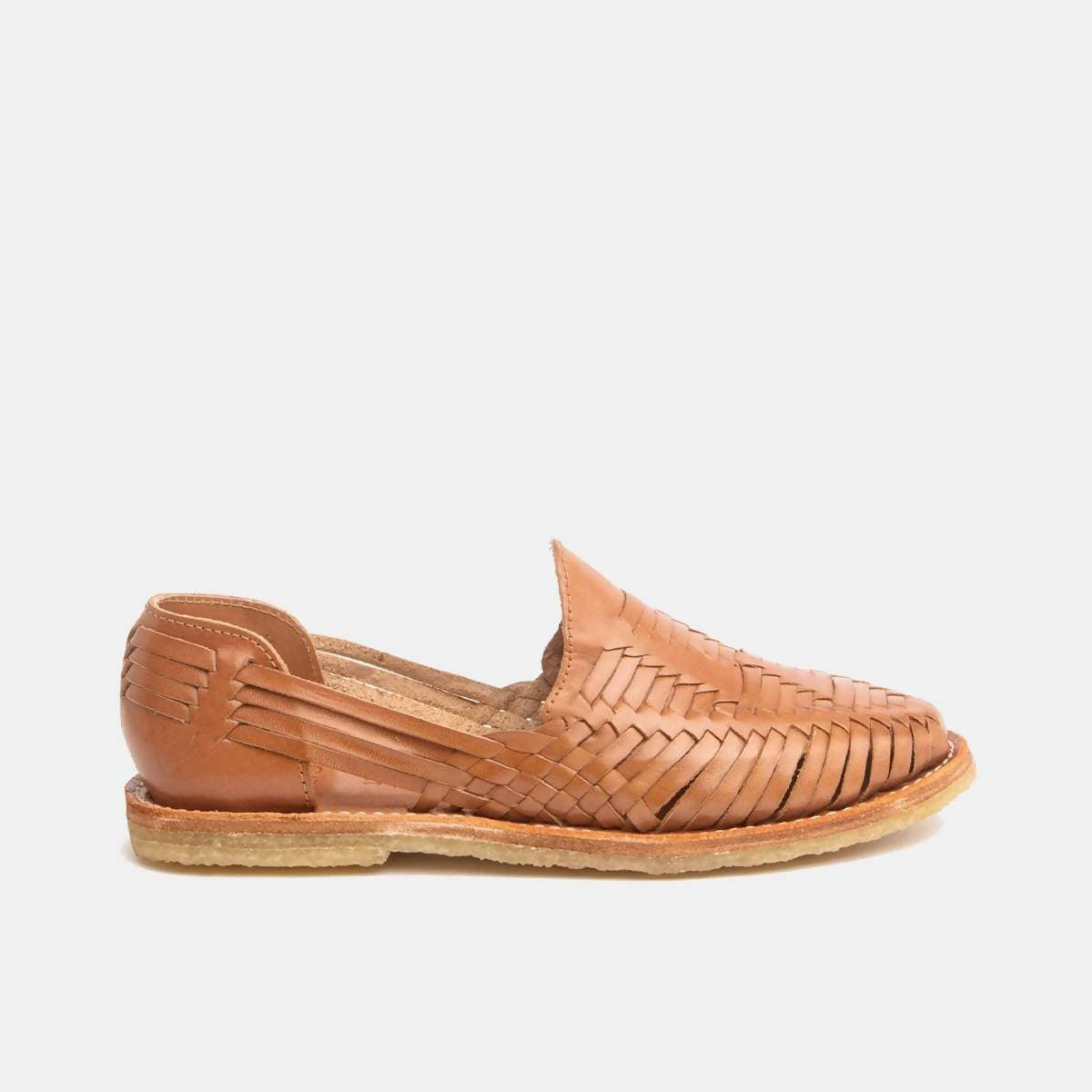 CANO | Authentic Women's Huaraches - MARA Natural Cognac