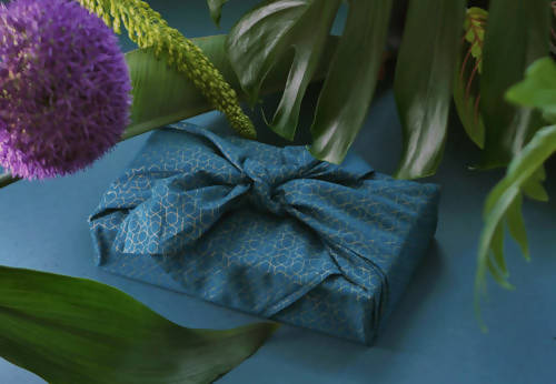 FabRap Reusable Gift Wrap - Ocean