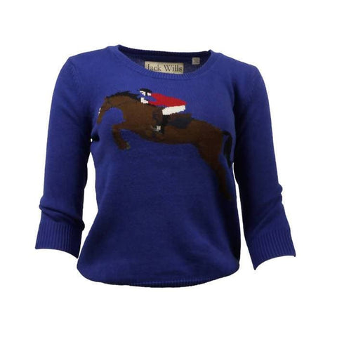 Pre-owned Jack Wills Horse Jumping Jumper