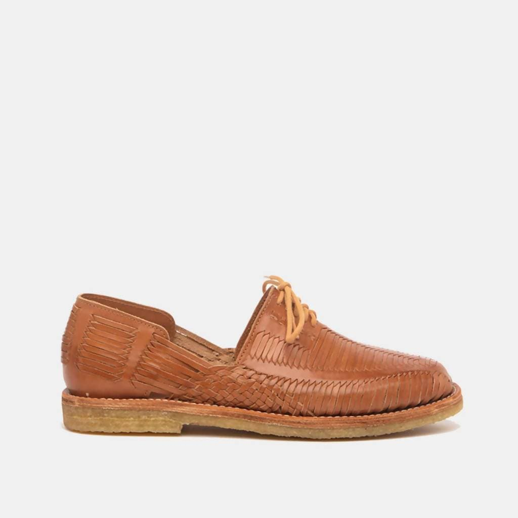 CANO | Men's Authentic Huaraches - BENITO Natural Cognac