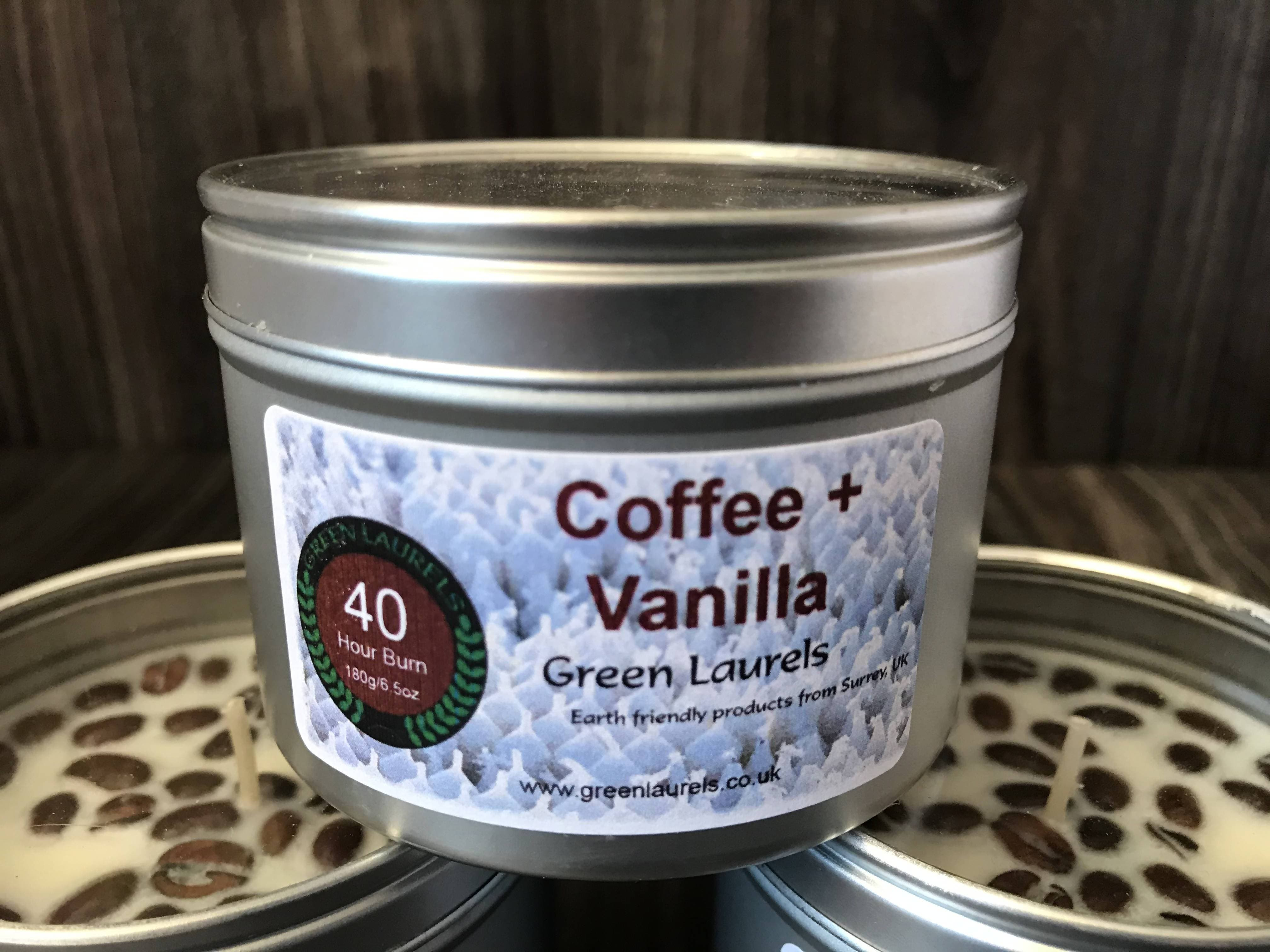 200ml Coffee + Vanilla Soy Handmade Candle