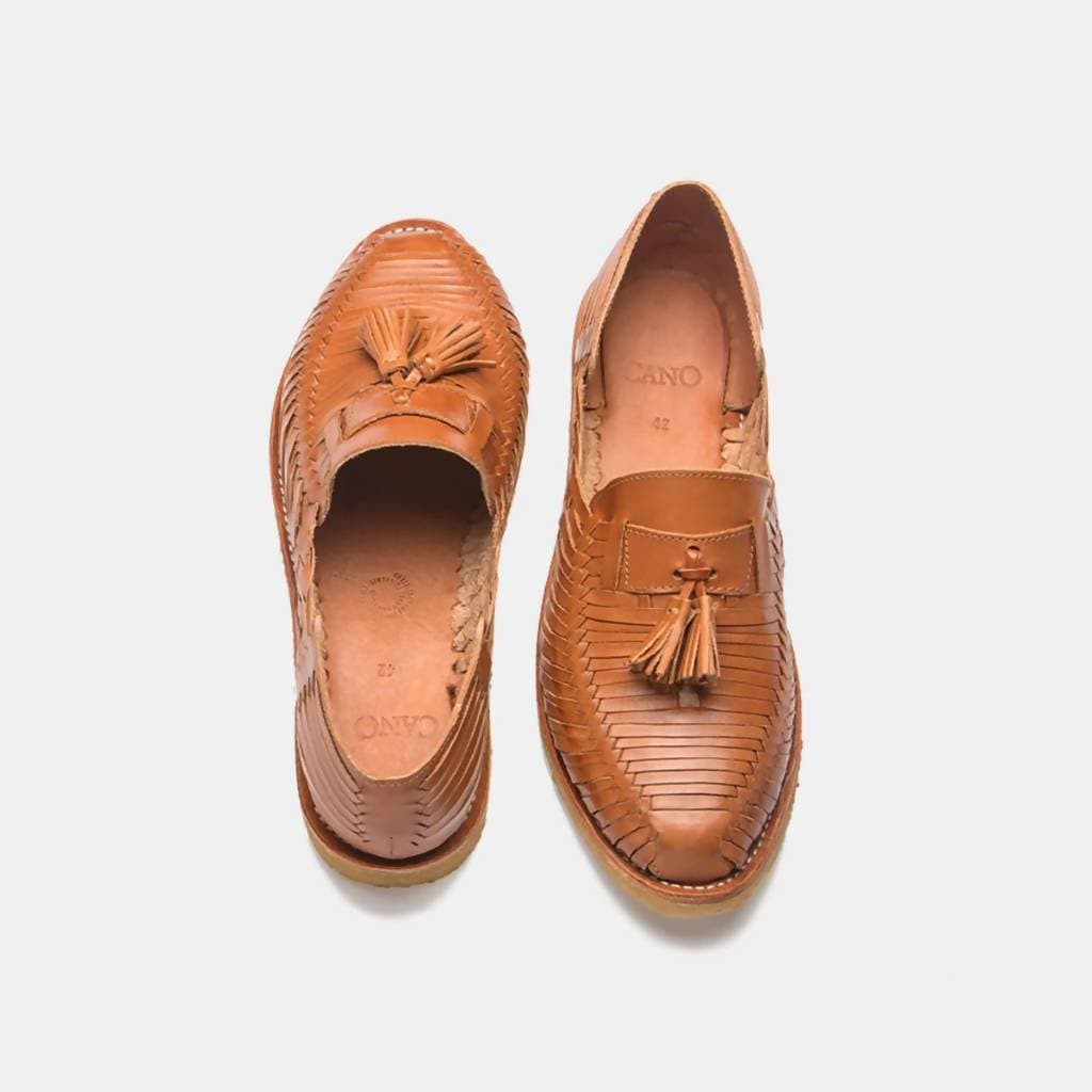 CANO | Authentic Men's Huaraches - FRIDA Natural Cognac