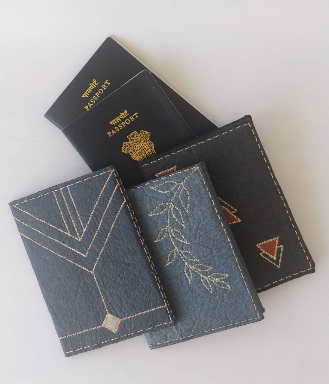 Plant Based Eco-friendly Passport Covers (Set Of 2)