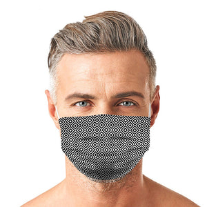 Tile Shape Style, Washable and Reusable Microfliment Cloth Face Mask