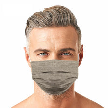 Load image into Gallery viewer, Light Brown Jean Style, Washable and Reusable Microflament Cloth Face Mask
