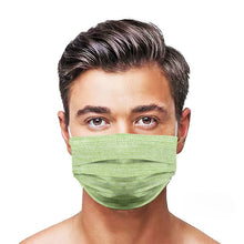 Load image into Gallery viewer, Green Jean Style, Washable and Reusable Microflament Cloth Face Mask