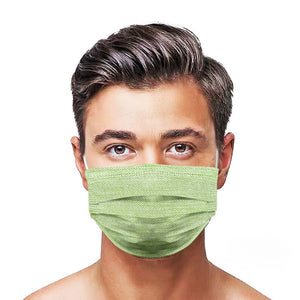 Green Jean Style, Washable and Reusable Microflament Cloth Face Mask