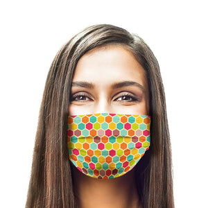 Colorful Design New Style, Washable and Reusable Microflament Cloth Face Mask