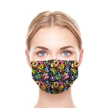 Load image into Gallery viewer, Letters New Style, Washable and Reusable Microflament Cloth Face Mask