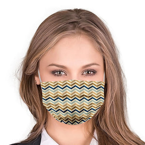 Retro Style, Washable and Reusable Microflament Cloth Face Mask