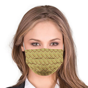 Z Retro Style, Washable and Reusable Microflament Cloth Face Mask