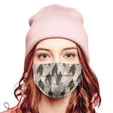 Load image into Gallery viewer, Winter Leaves Style, Washable and Reusable Microflament Cloth Face