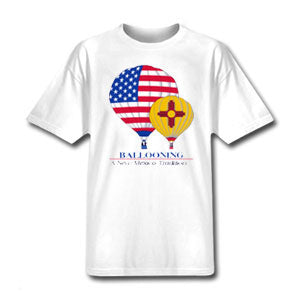 "New Mexico ""Two Balloons"" T-Shirt"