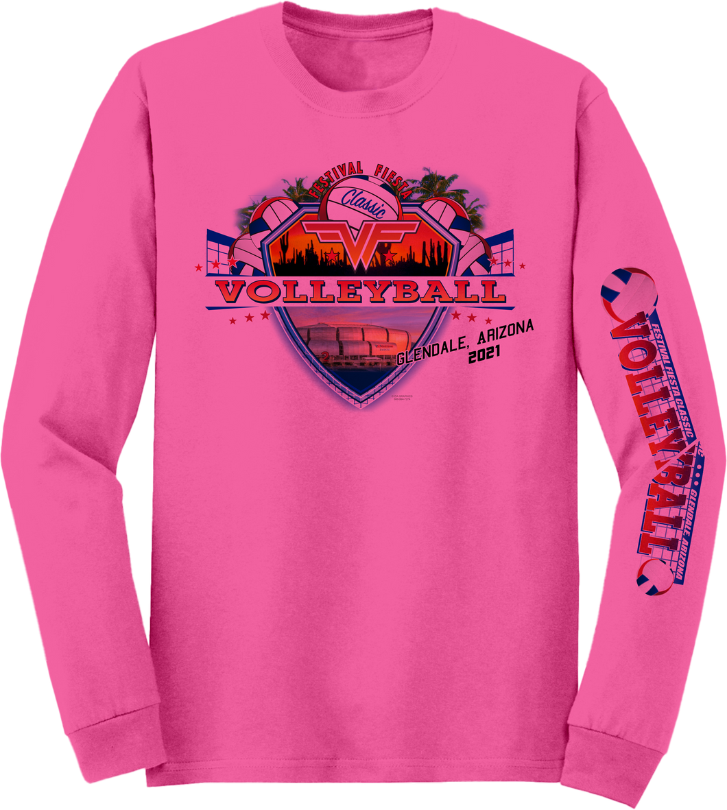 Custom Performance T-Shirt VF Classic in Pink