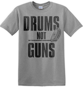 Drums not Guns Tee