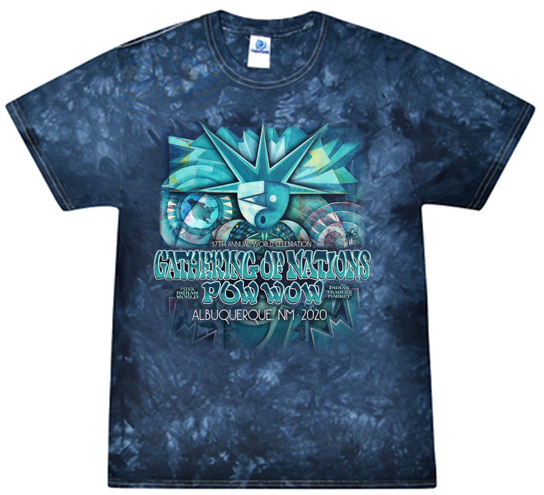 2020 Gathering of Nations Tie-Dye T-Shirt
