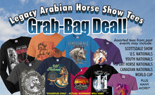 Load image into Gallery viewer, Arabian Horse Show Tees Grab Bags