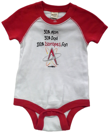 Isotopes Infant Onsie