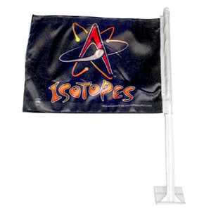 Isotopes Car Flag