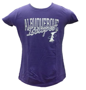Purple Ladies Scoop neck