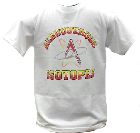 Isotopes Logo White T-Shirt