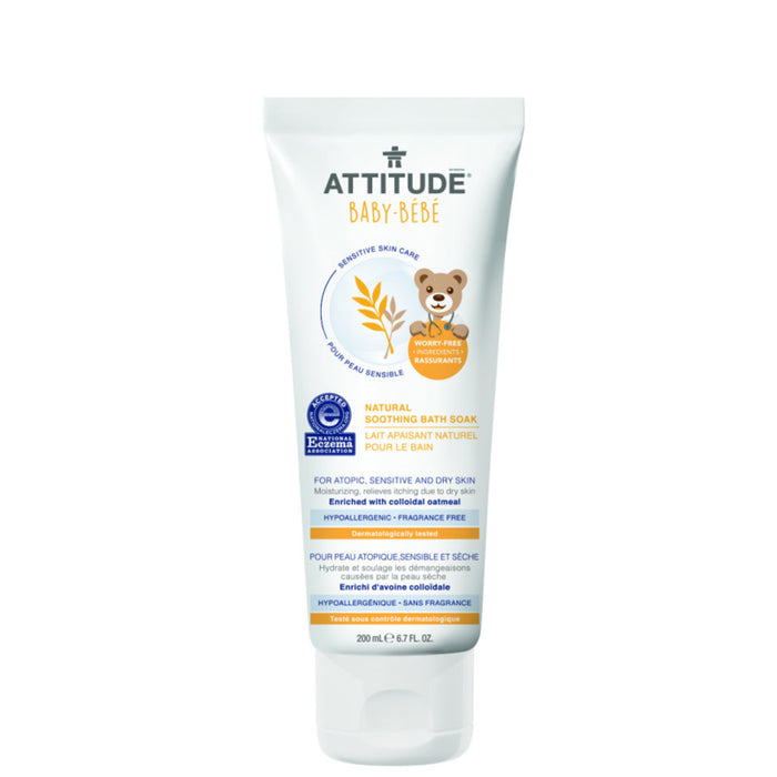 ATTITUDE - Soothing Bath Soak (Sensitive Skin)