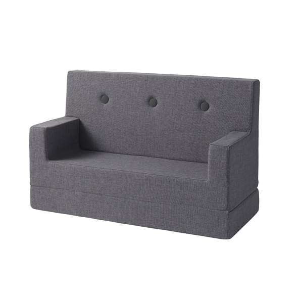 by KlipKlap - KK Kids Sofa Blue Grey