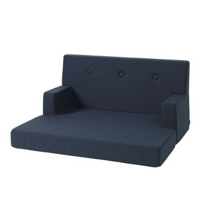 by KlipKlap - KK Kids Sofa Dark Blue