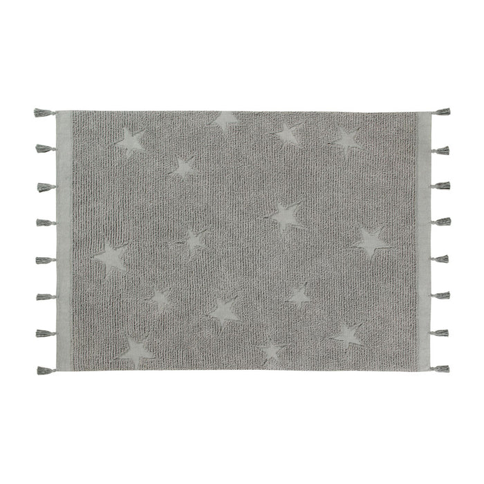 Lorena Canals – Vloerkleed  Hippie Stars Grey