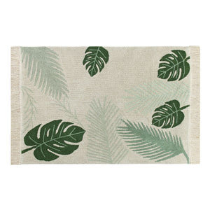 Lorena Canals – Vloerkleed Tropical Green