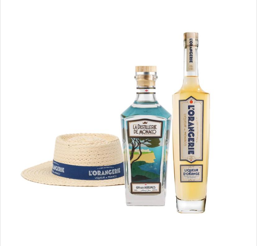 Discovery pack with L'Orangerie liqueur Gin aux Agrumes