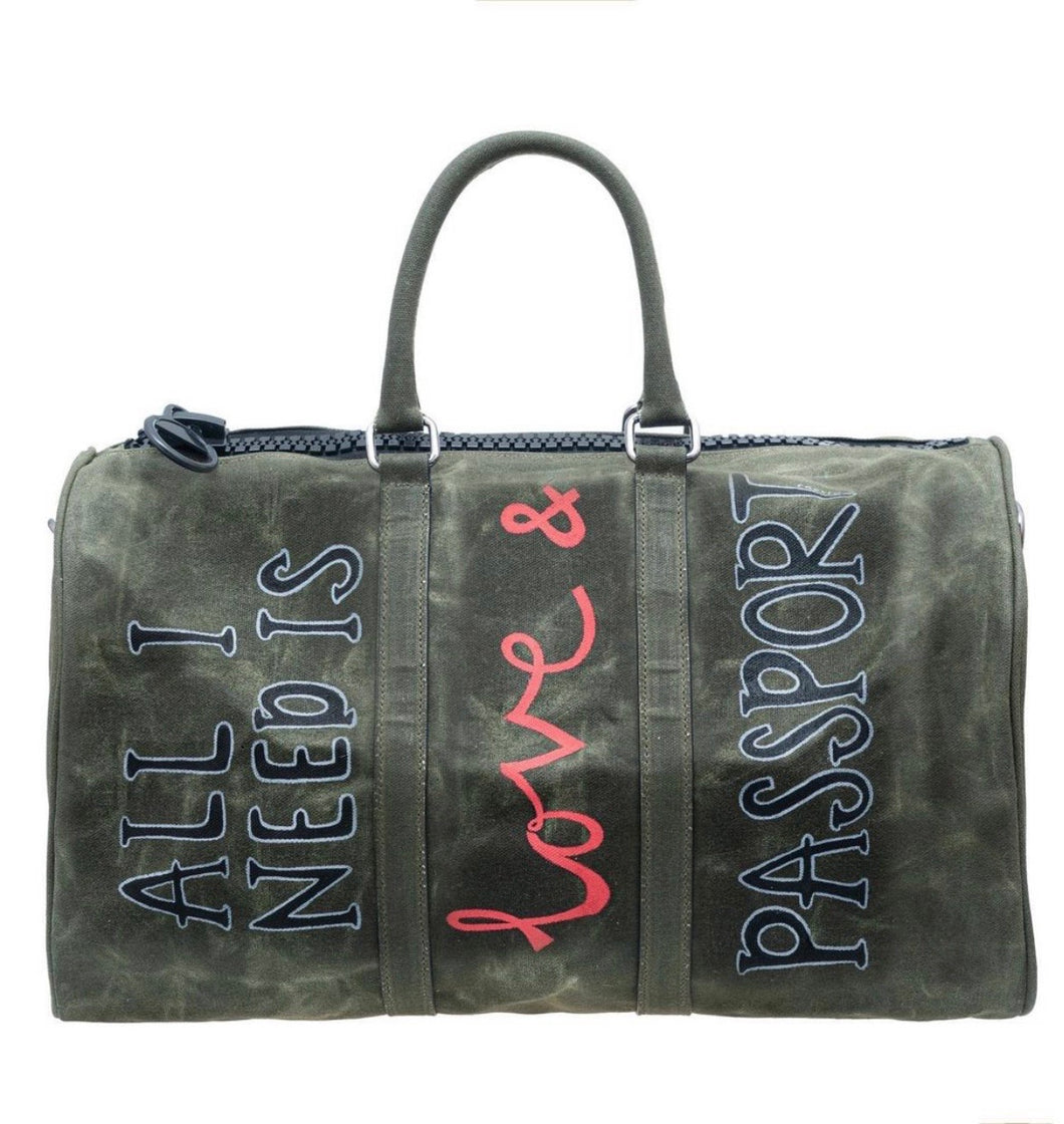 Canvas City Shopper Khaki 45cm by Raptiye