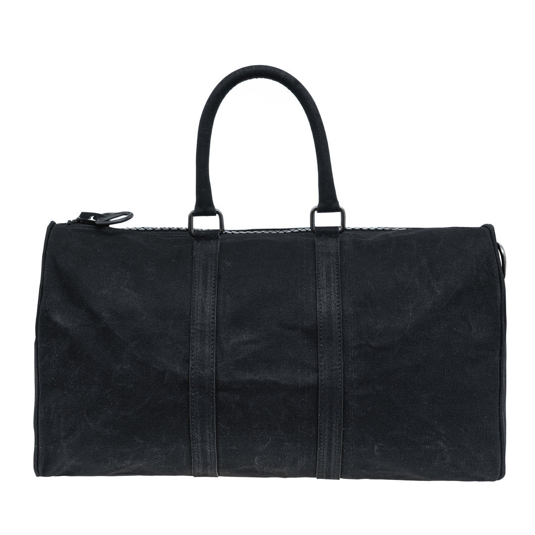 Canvas City Shopper Black x 45cm