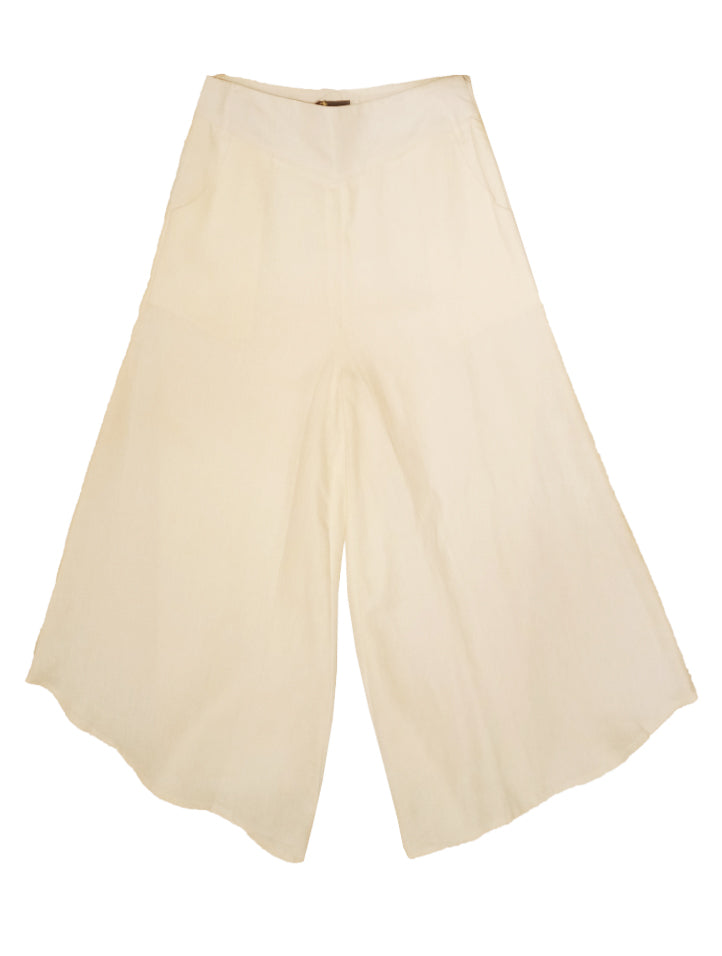 Curve Flare Linen Pants (Retail Price: $98)