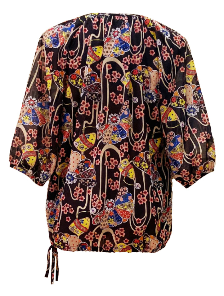 Printed Blouse (Retail Price: $88)