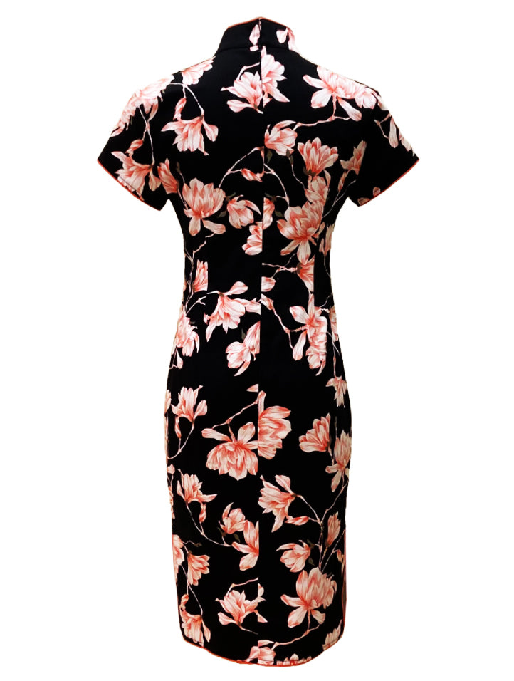 Classic Cotton Short Sleeve Qipao (Retail Price: $168)