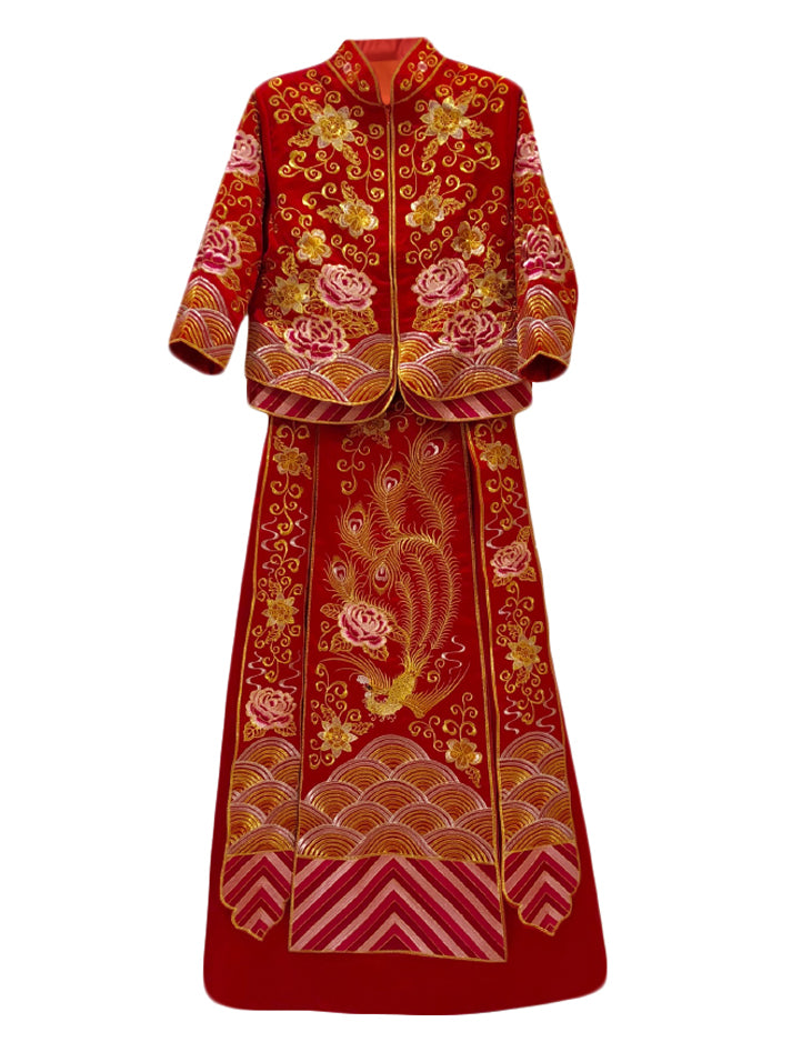 Full Embroidery Wedding Kua (Pre-Order)