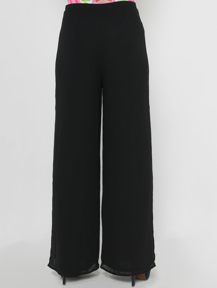 Flare 2-Layer Chiffon Pants (Retail Price: $88)