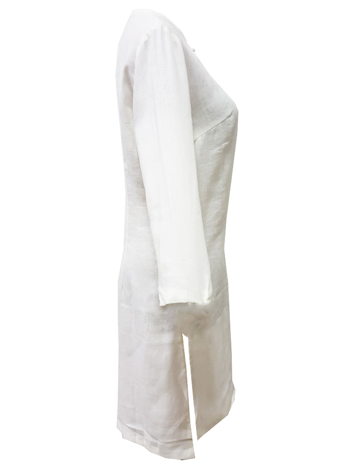 Linen CS Long Blouse (Retail Price: $238)