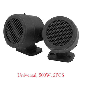 2PCS 500W Pre-Wired Tweeter Speakers Car Audio System Active Subwoofer Car Woofer Subwoofer Cars Audio