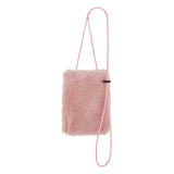sheepskin phone bag