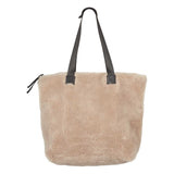 shopper bag of sheepskin