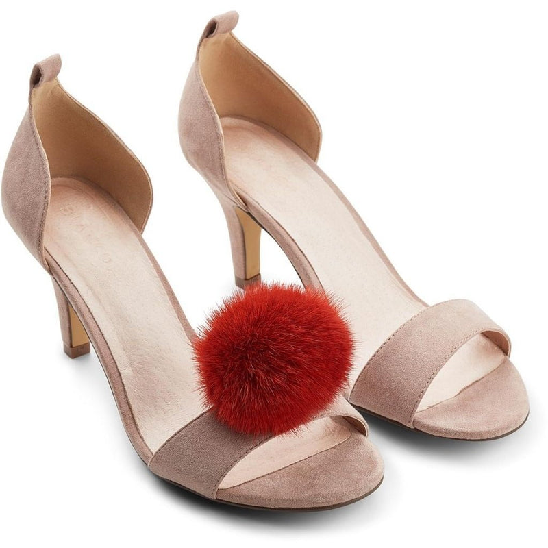 Mink Shoes Pom Pom Clip (2 pcs. set)