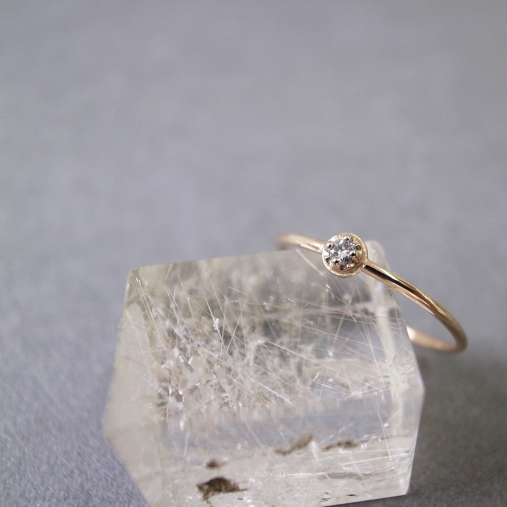 Diamond ring - Prong setting