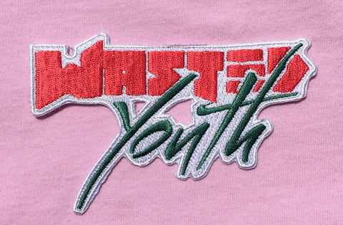 Wasted Youth Iron On Patch