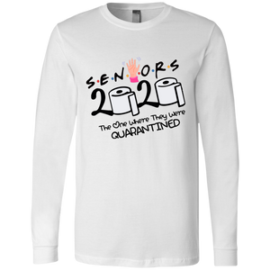 Senior 2020 Shirt, 2020 Graduation Shirt, Friends Senior Shirt, Senior 2020 The One Where They Are Quarantined Shirt, Graduate 2020 Shirt