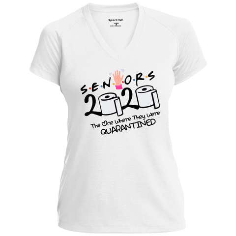 Image of Senior 2020 Shirt, 2020 Graduation Shirt, Friends Senior Shirt, Senior 2020 The One Where They Are Quarantined Shirt, Graduate 2020 Shirt