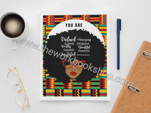 Load image into Gallery viewer, You Are Notebook/Journal Ankara Series (Variety of Covers)