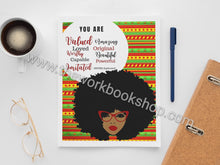 Charger l'image dans la galerie, You Are Notebook/Journal Ankara Series (Variety of Covers)