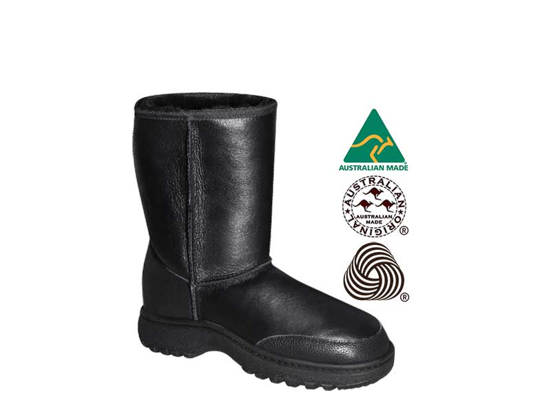ALPINE NAPPA SHORT boots. Made in Australia. FREE Worldwide Shipping.